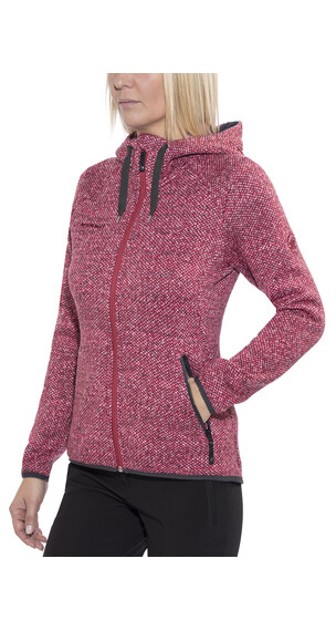 Mammut Kira Tour ML Hooded Jacket Women crimson